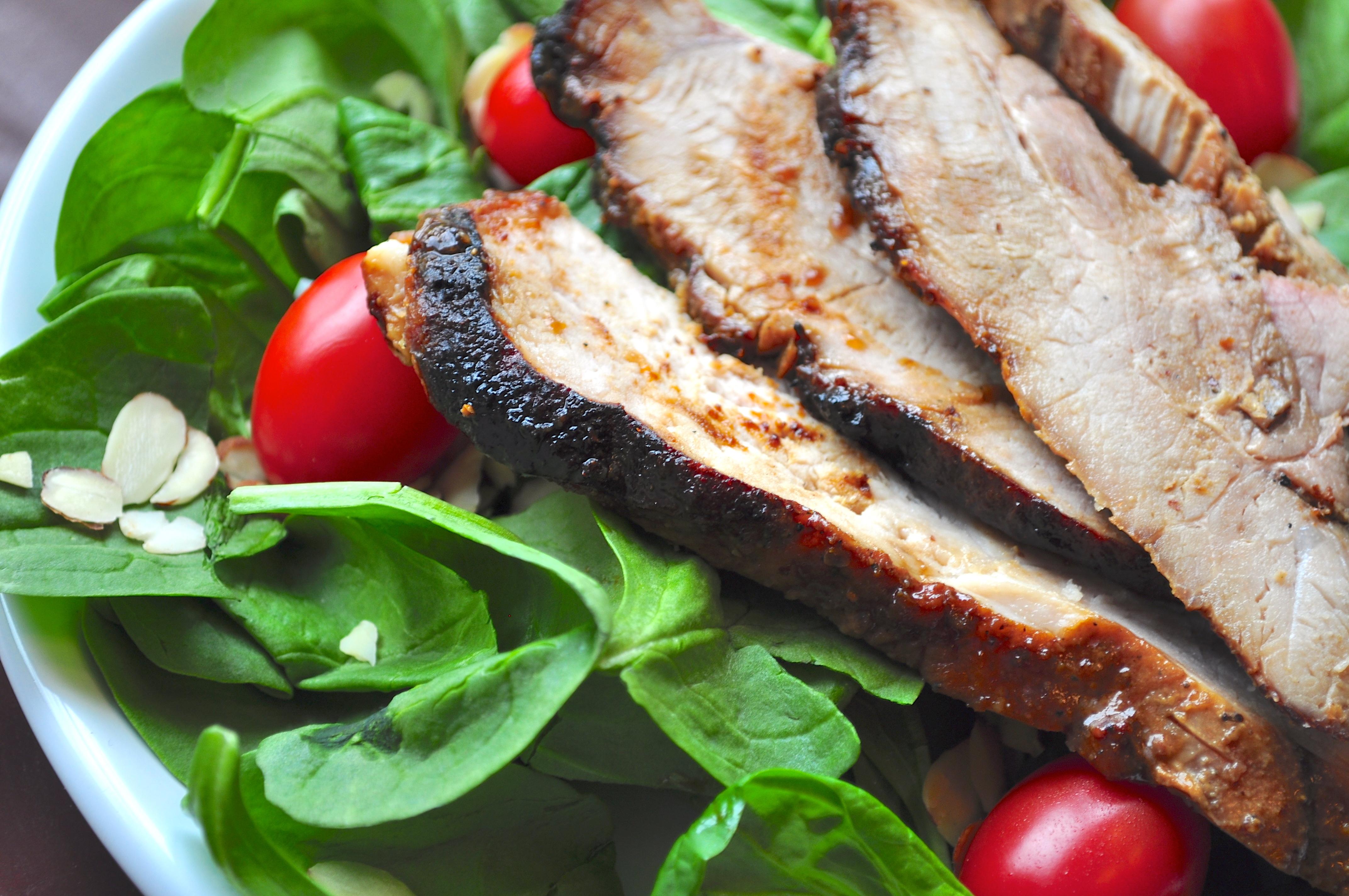 Molasses-Glazed Grilled Pork Loin ~ 5 ingredients